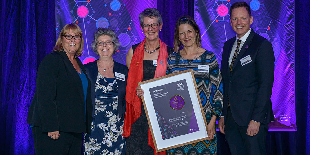The DAME study has won a Victorian Public Healthcare Award.