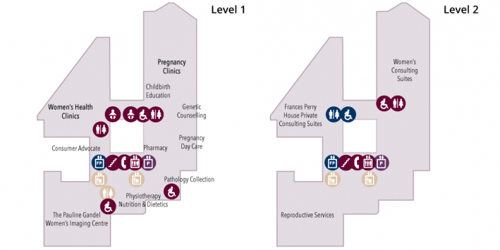 levels 1 and 2 maps