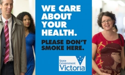 Smoking bans at hospitals