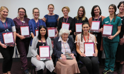 Nursing and Midwifery Award winners